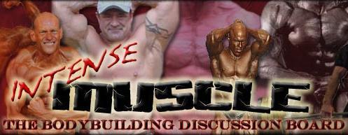 Intense Muscle Banner